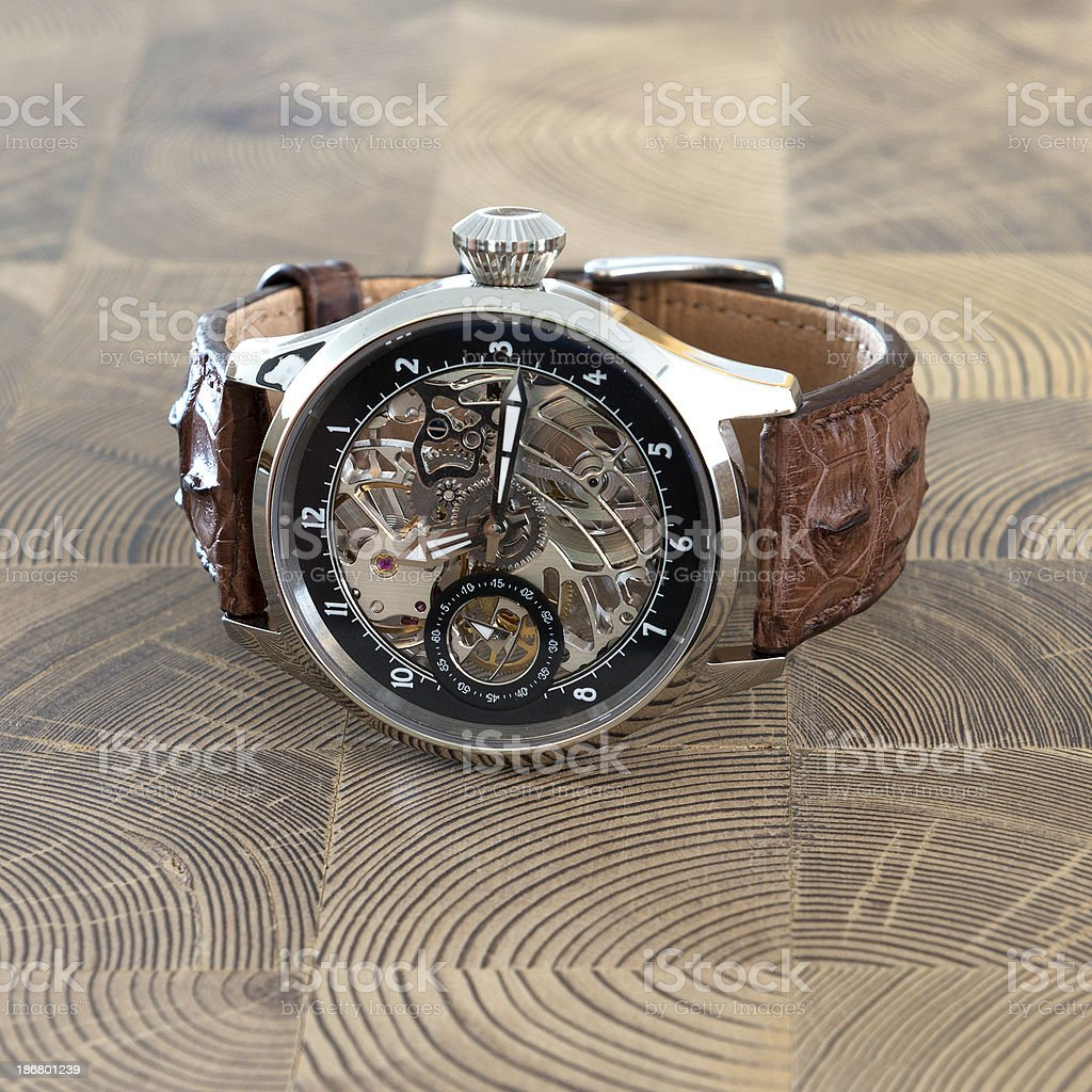 Luxury Wristwatch stock photo