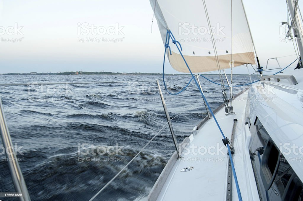 Luxury Yacht royalty-free stock photo
