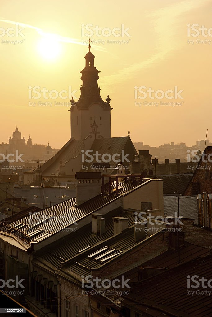 Lviv, Ukraine royalty-free stock photo
