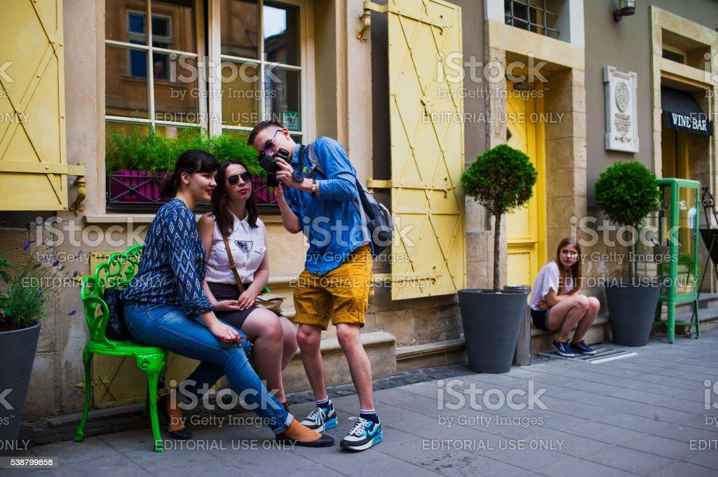 Lviv, Ukraine stock photo