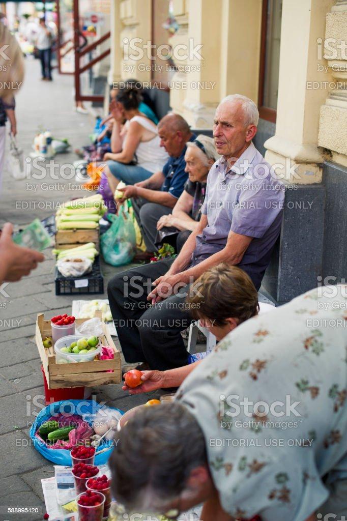Lviv Ukraine stock photo