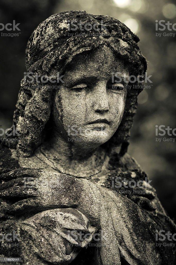 Lviv?s sad angel royalty-free stock photo