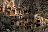 Lycian Rock Tombs Of Myra