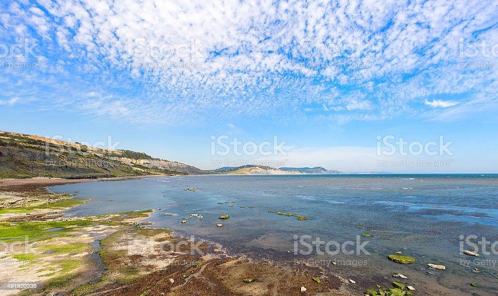 Lyme Bay stock photo