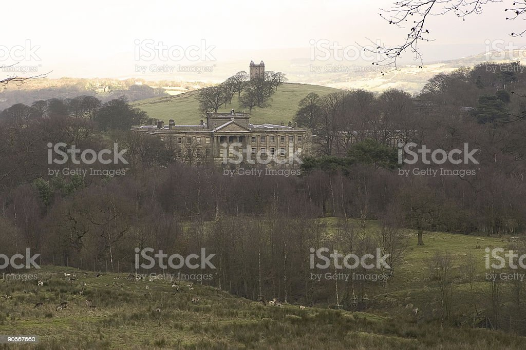 Lyme Park - The Cage stock photo