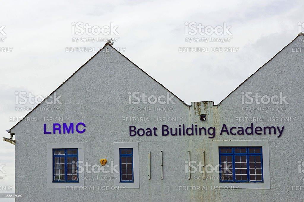 Lyme Regis Marine Centre Monmouth Beach stock photo