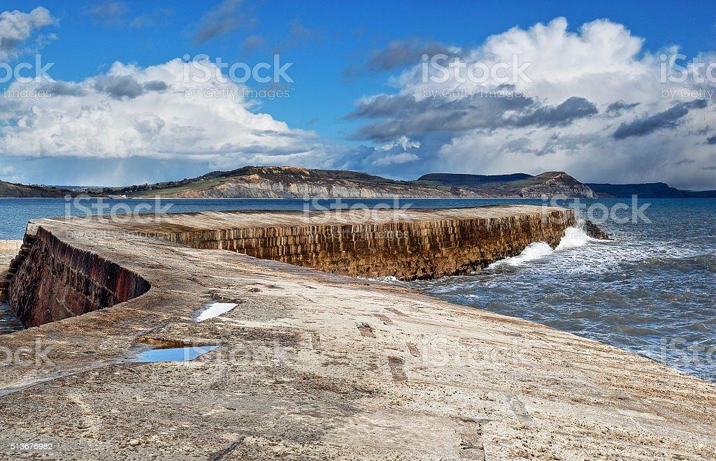 Lyme Regis stock photo
