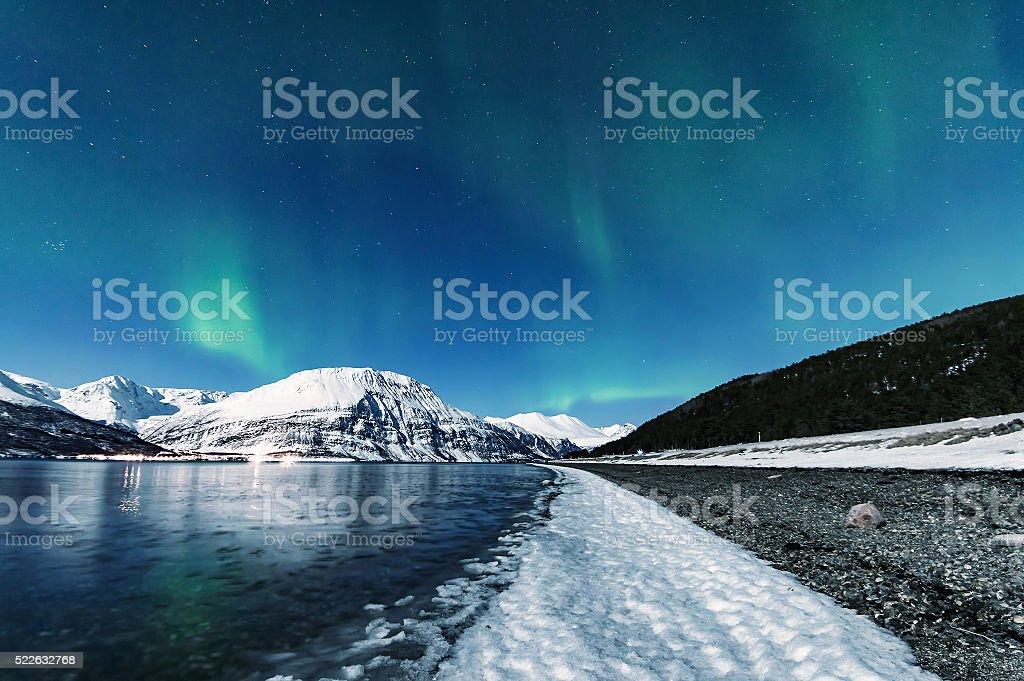 Lyngen stock photo