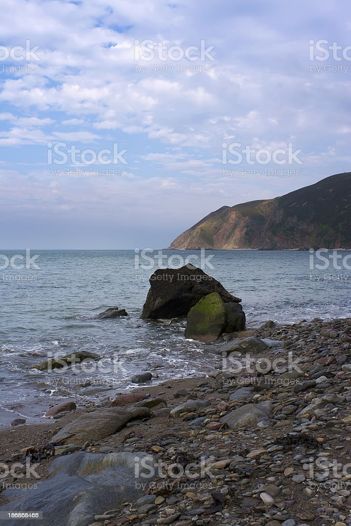 lynmouth stock photo