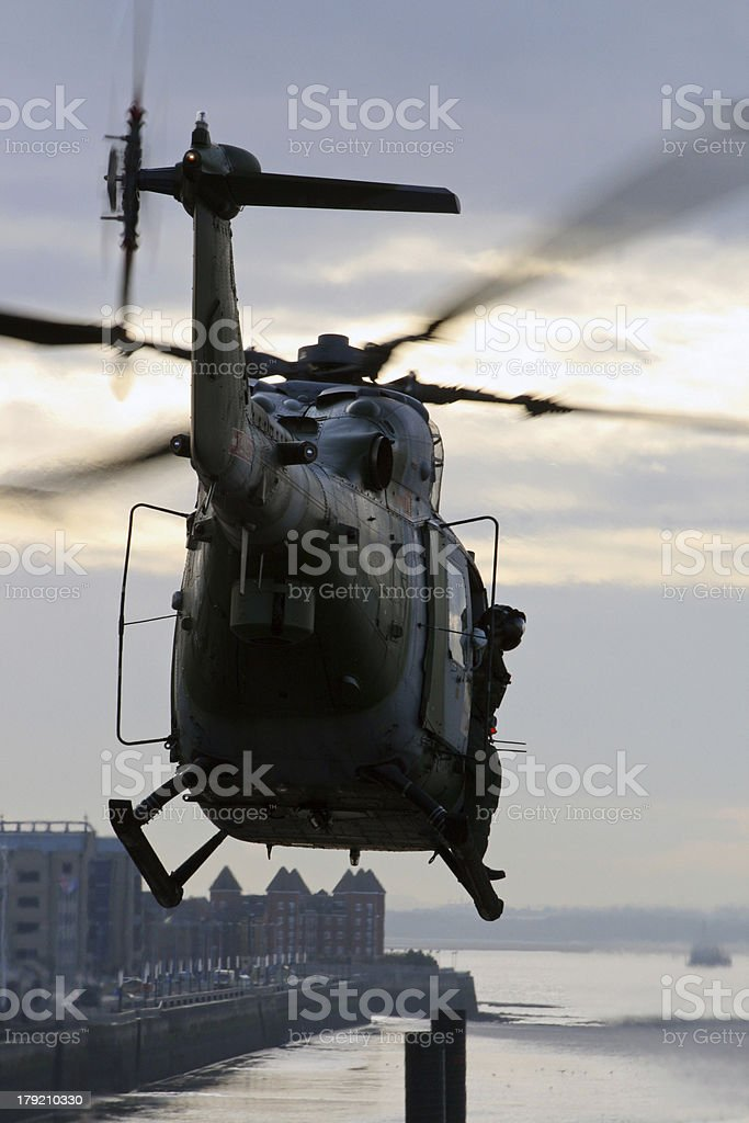 Lynx helicopter royalty-free stock photo
