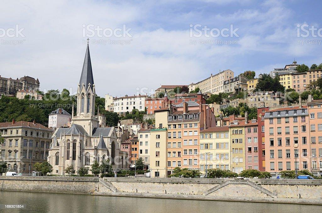 Lyon (France) stock photo