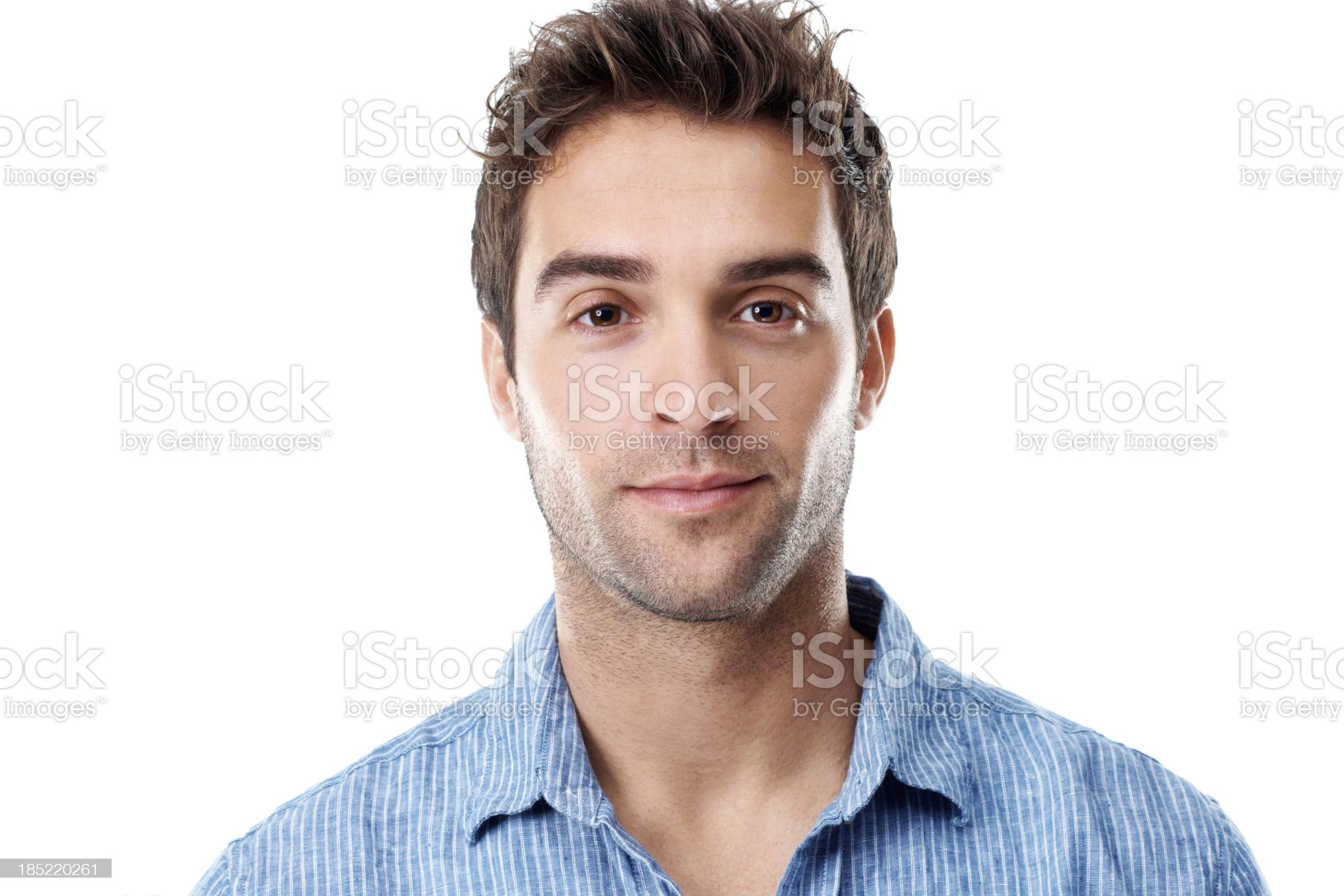 I'm a confident and casual guy royalty-free stock photo