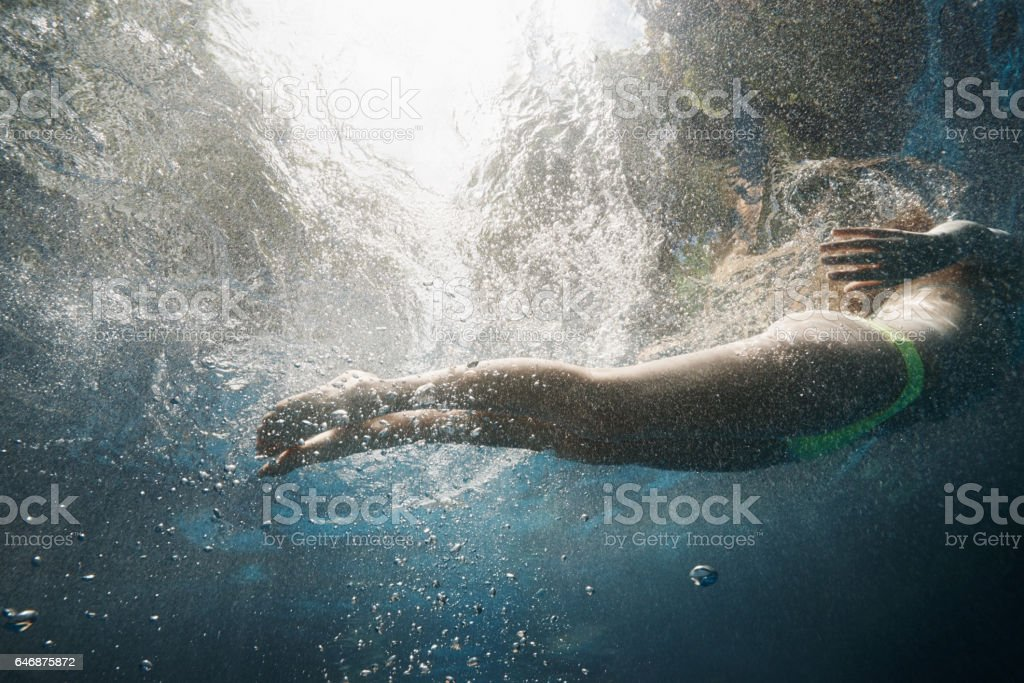 I'm a mermaid in my free time stock photo
