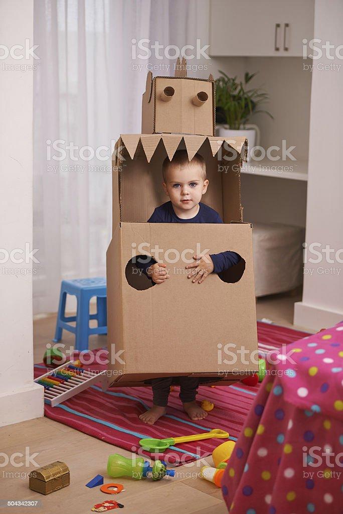 I'm a robot! stock photo