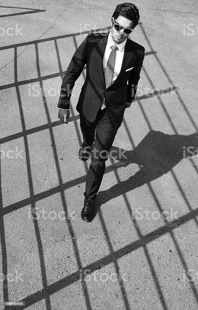 I'm a special agent royalty-free stock photo