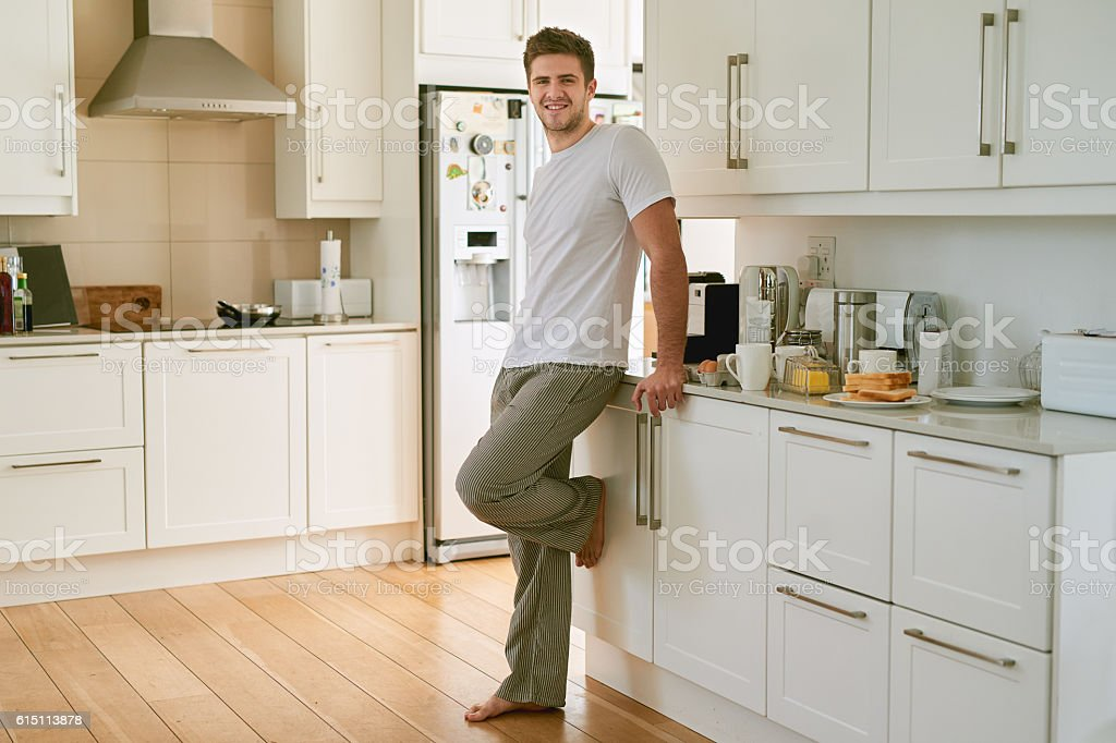 I'm all about that bachelor life stock photo