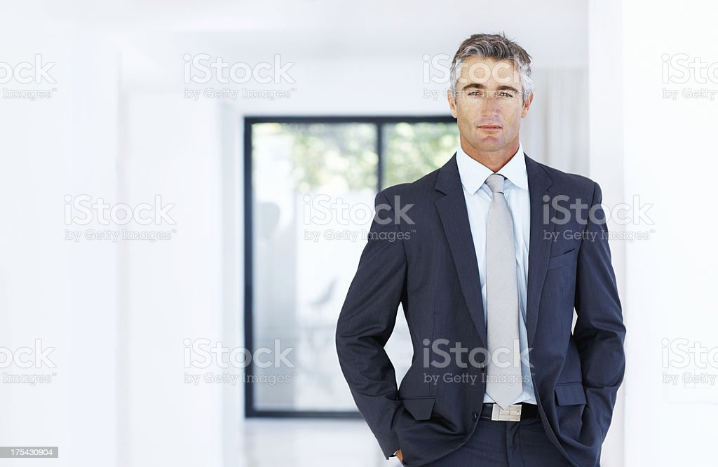 I'm all business stock photo