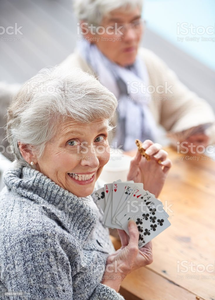 I'm all in stock photo