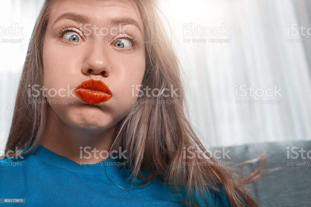 I'm crazy stock photo