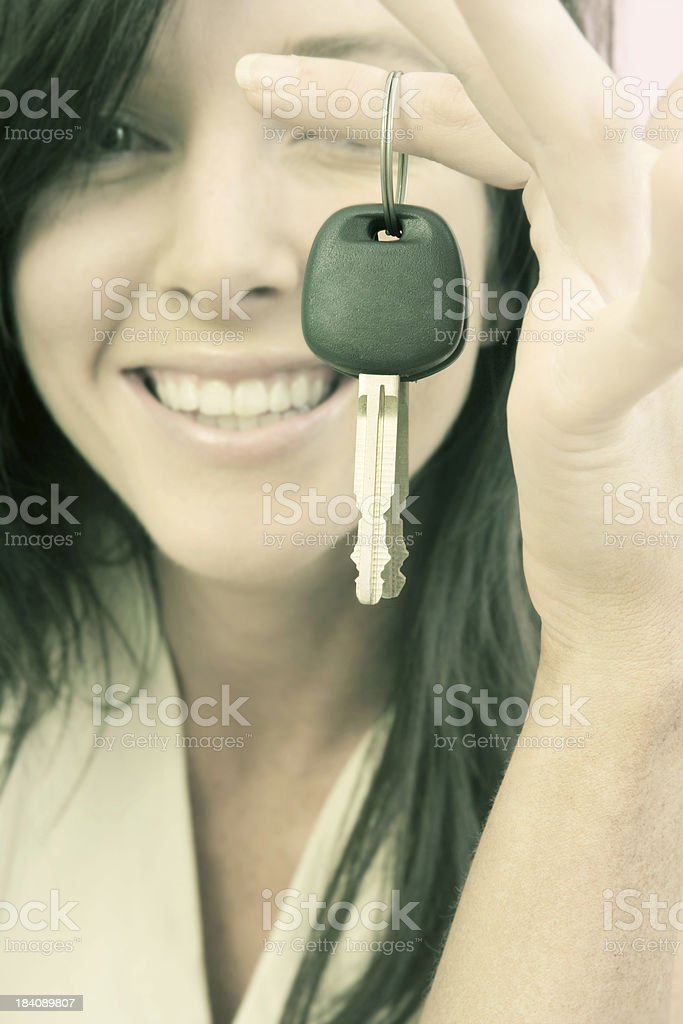 I'm Driving! royalty-free stock photo