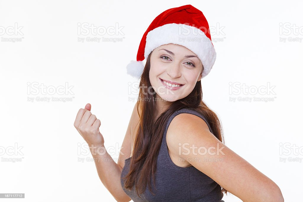 I'm even stronger now! royalty-free stock photo