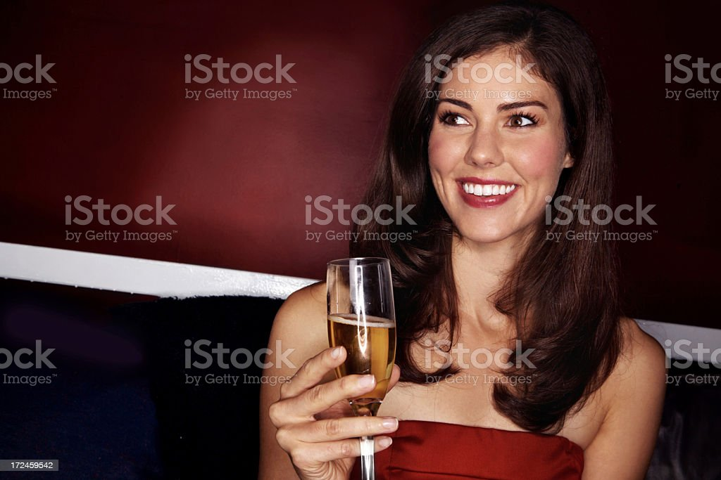 I'm feeling a bit tipsy royalty-free stock photo