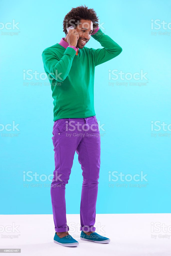 I'm fine thanks and looking amazing royalty-free stock photo