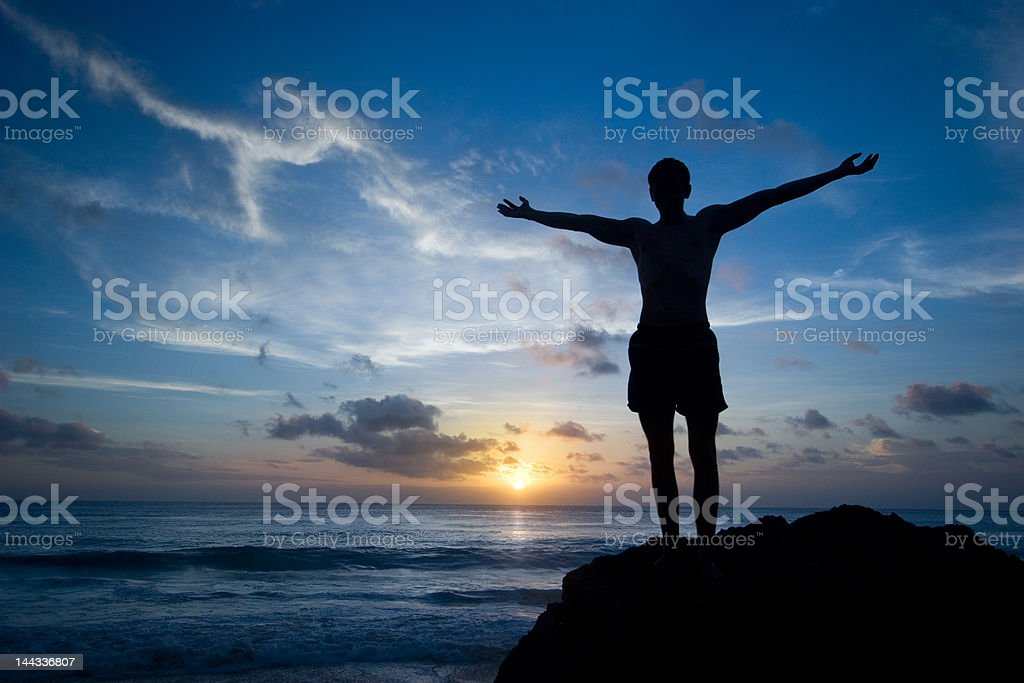 I'm free! stock photo