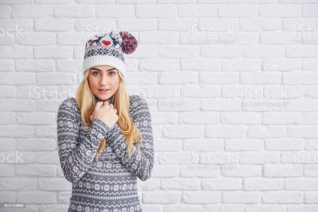 I'm freezing stock photo
