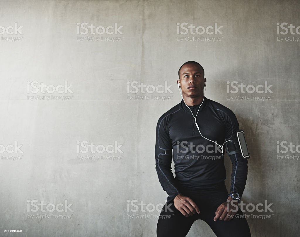 I'm getting closer every day stock photo