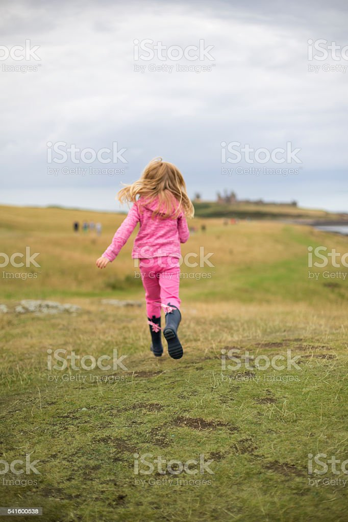 I'm going on an adventure! stock photo