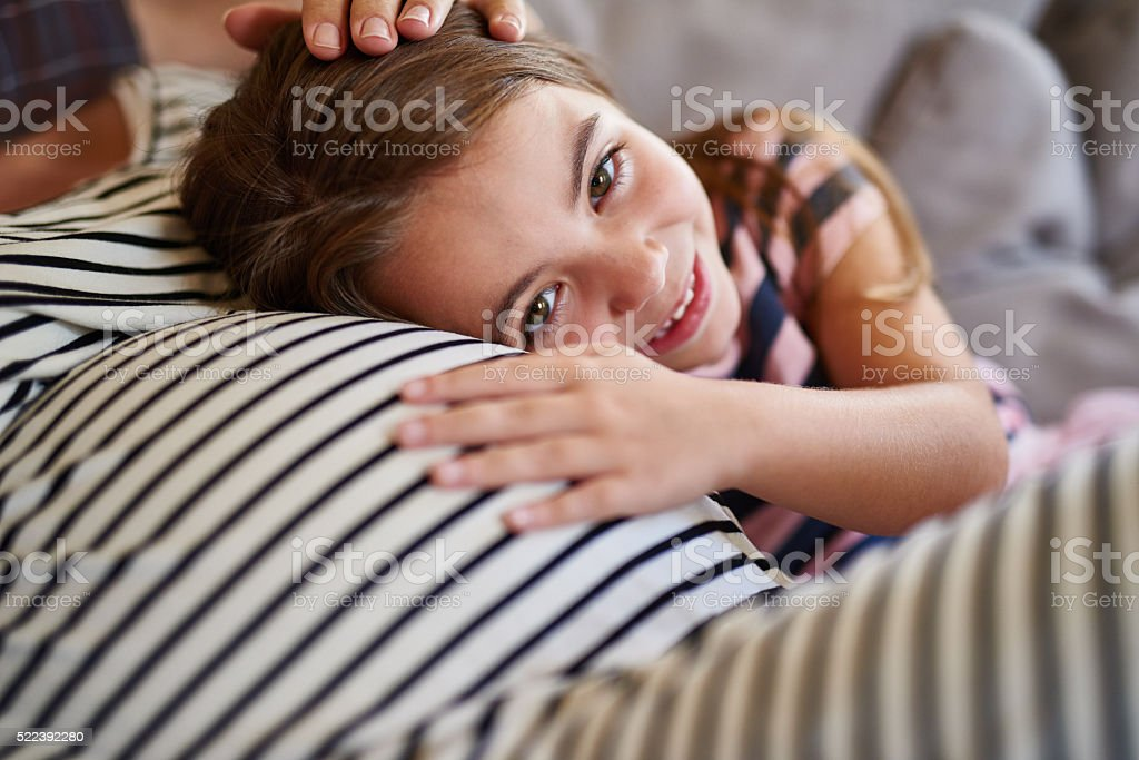 I'm going to be a big sister stock photo