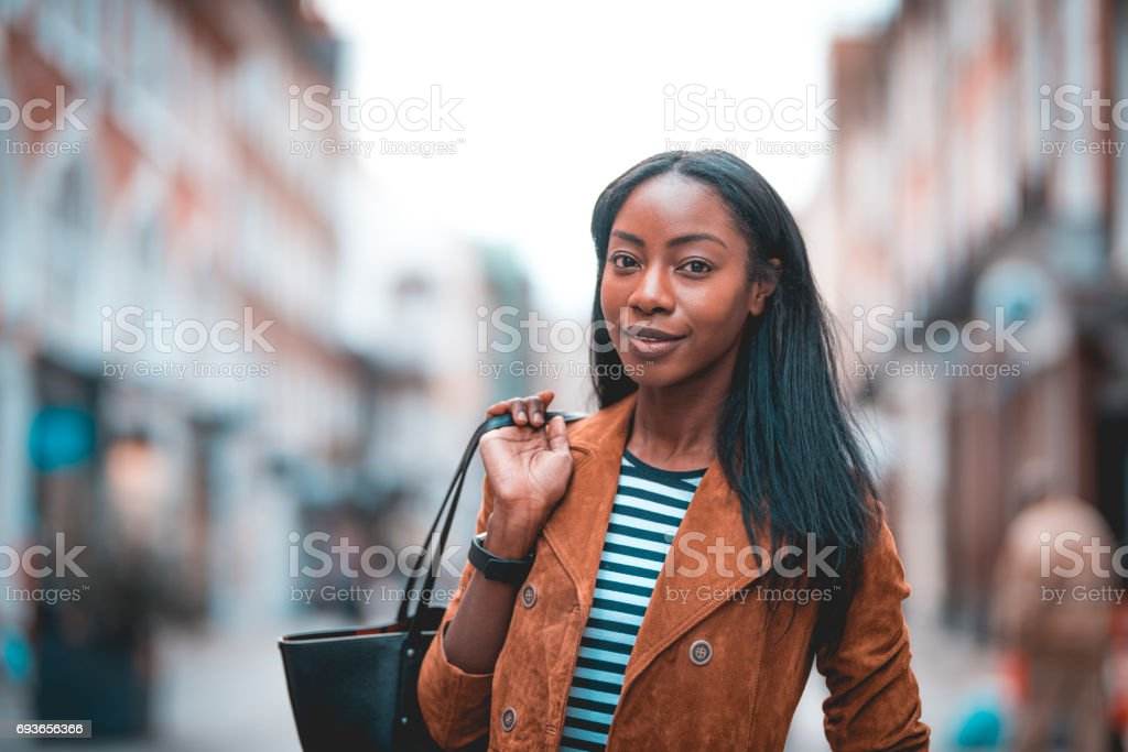 I'm gone shopping stock photo