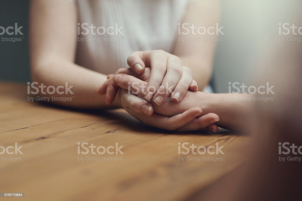 I'm here for you always stock photo