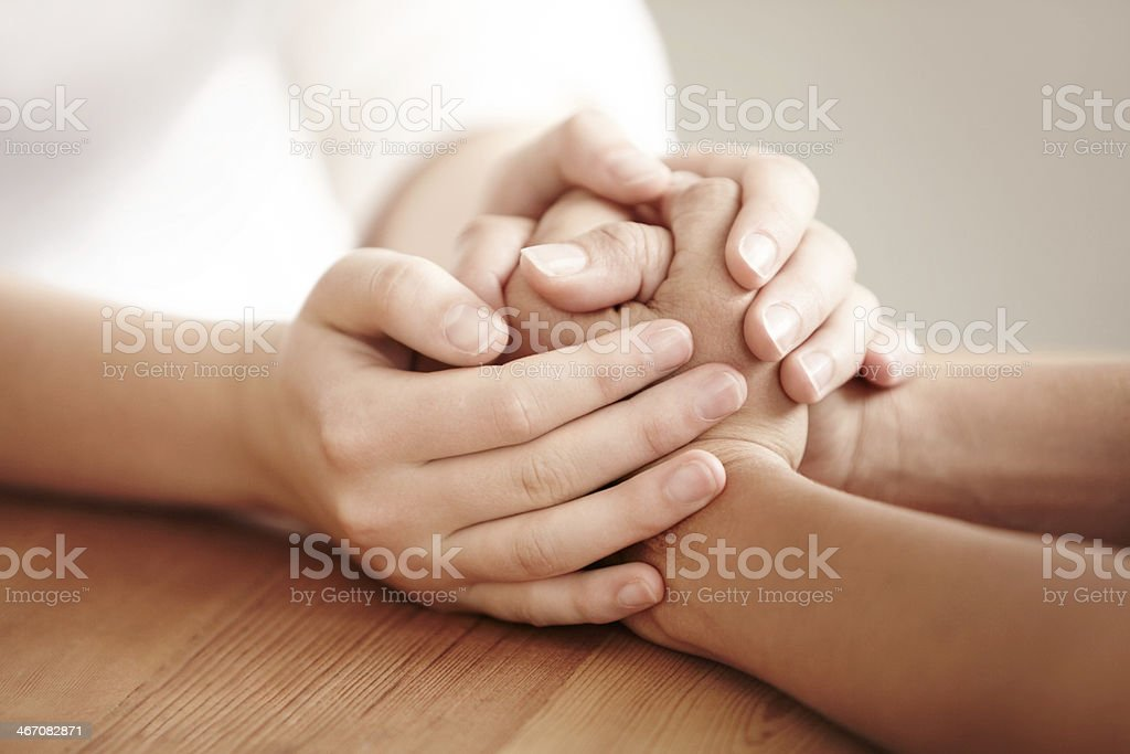 I'm here for you stock photo