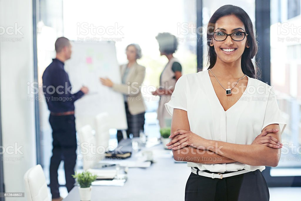 I'm here to succeed stock photo