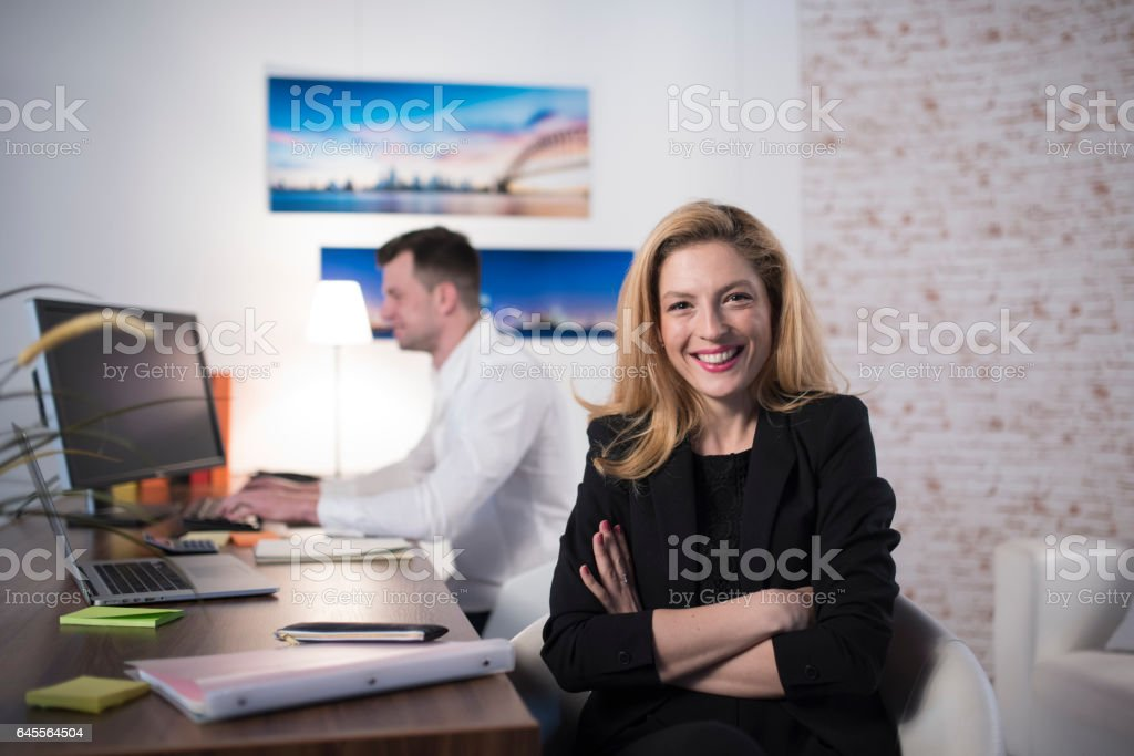 I'm in control stock photo