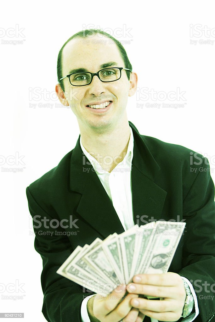 I'm in the Money stock photo