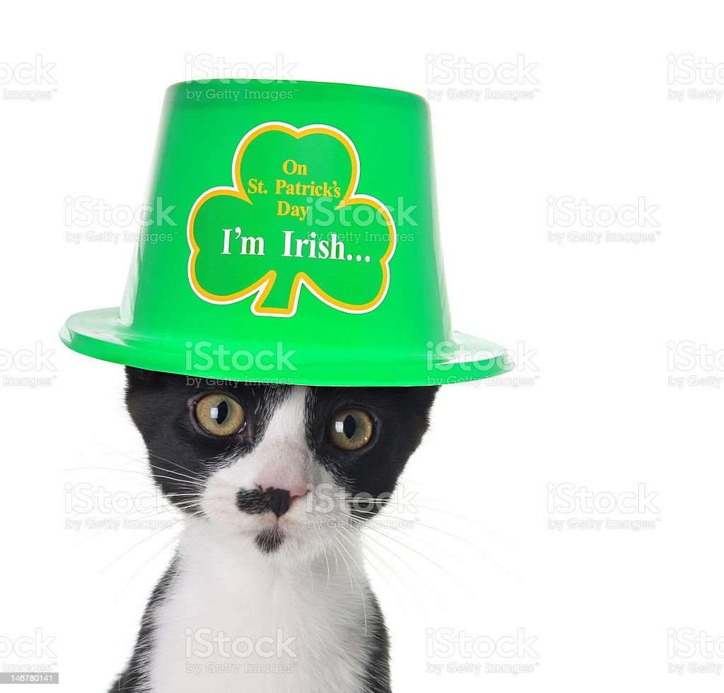 I'm Irish stock photo