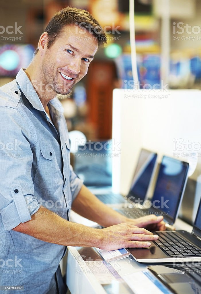 I'm just browsing thanks royalty-free stock photo