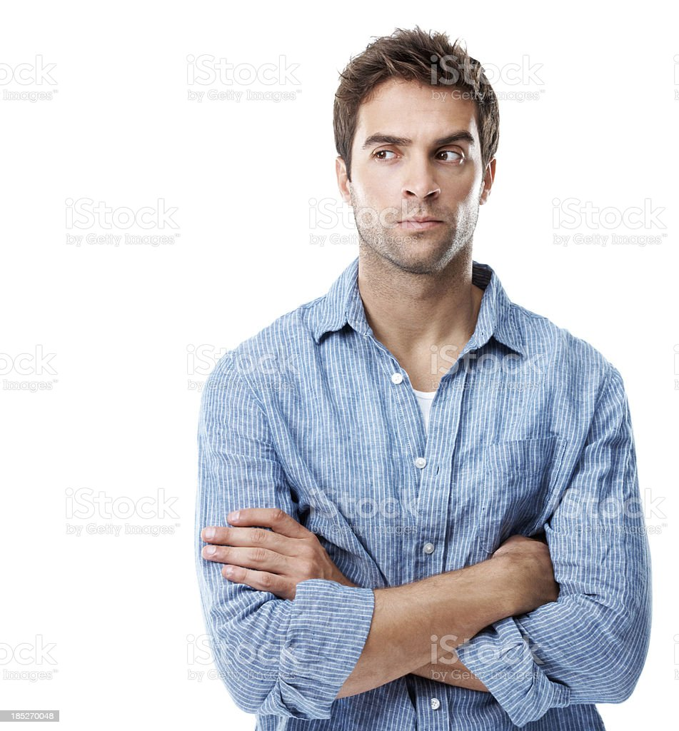 I'm keeping my eye on this around here royalty-free stock photo