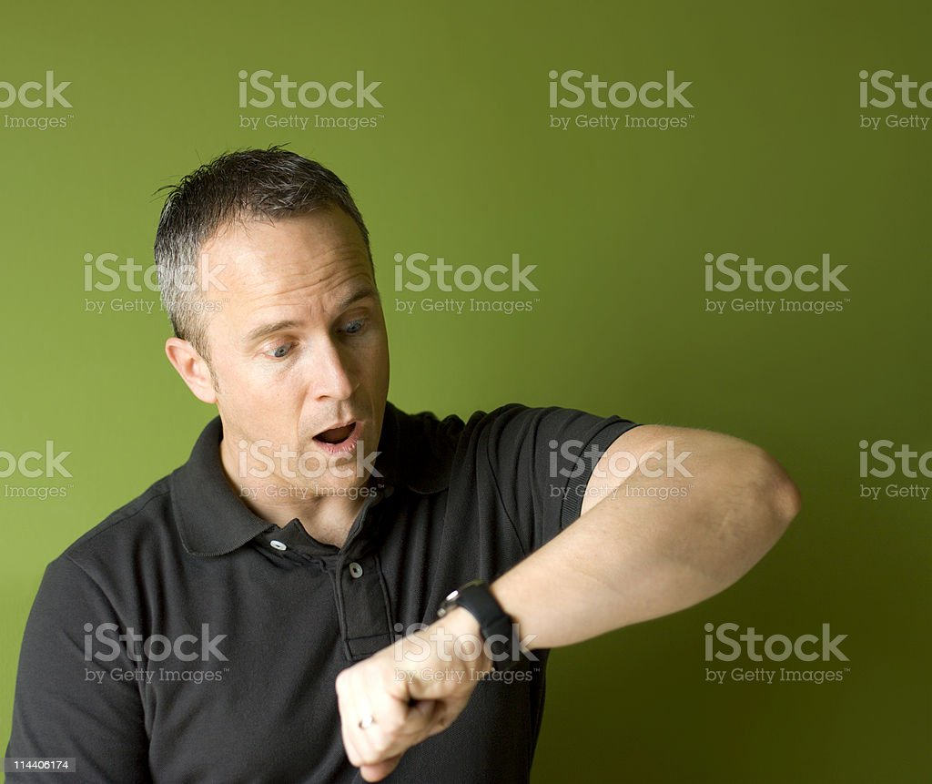 I'm Late!!! royalty-free stock photo