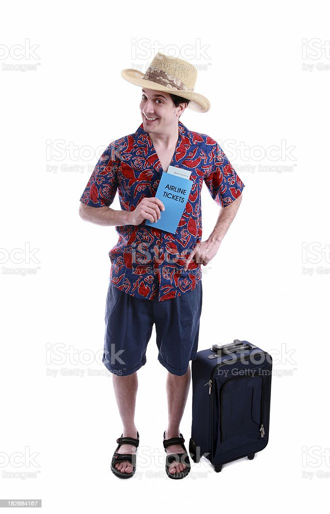 I'm Leaving On a Jet Plane... royalty-free stock photo