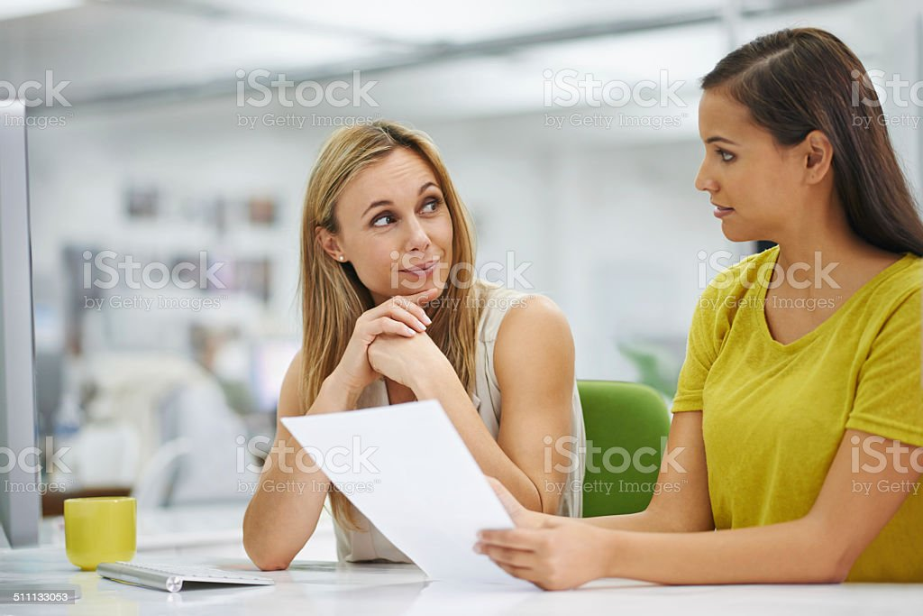 I'm listening to what you are proposing stock photo