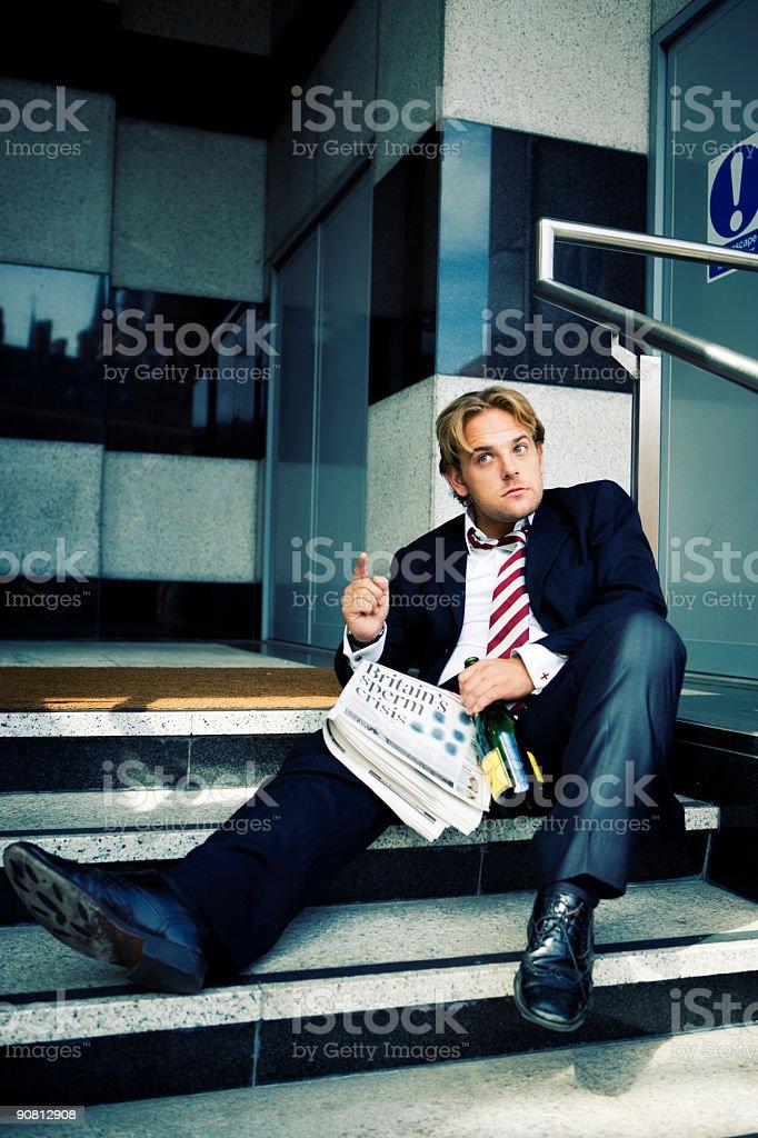 I'm not drunk... royalty-free stock photo