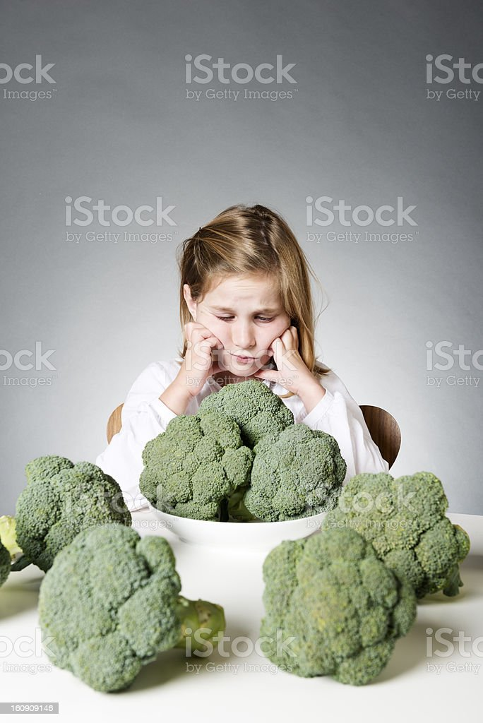 I'm Not Eating All That! stock photo
