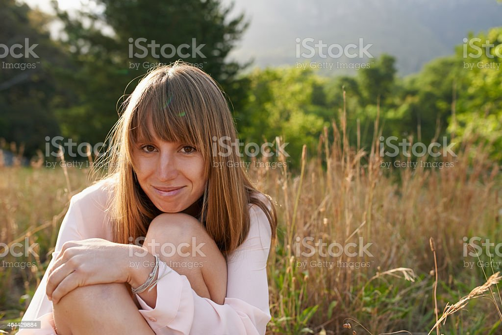 I'm ok with some alone time stock photo