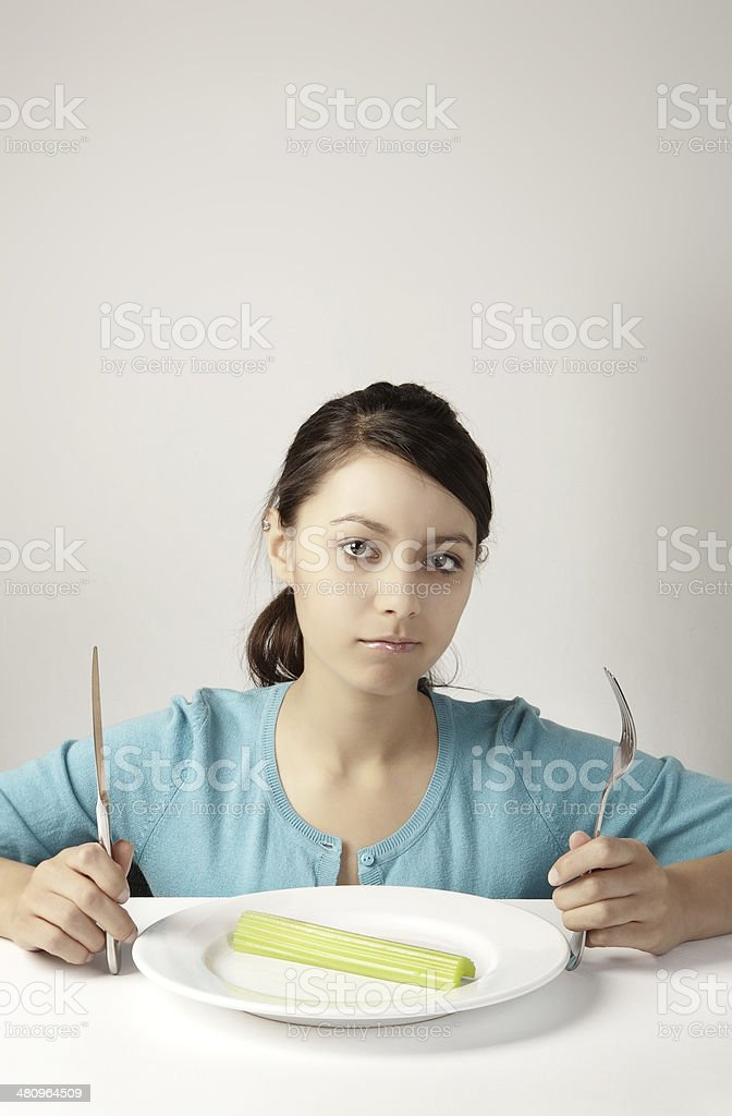I'm on a diet stock photo