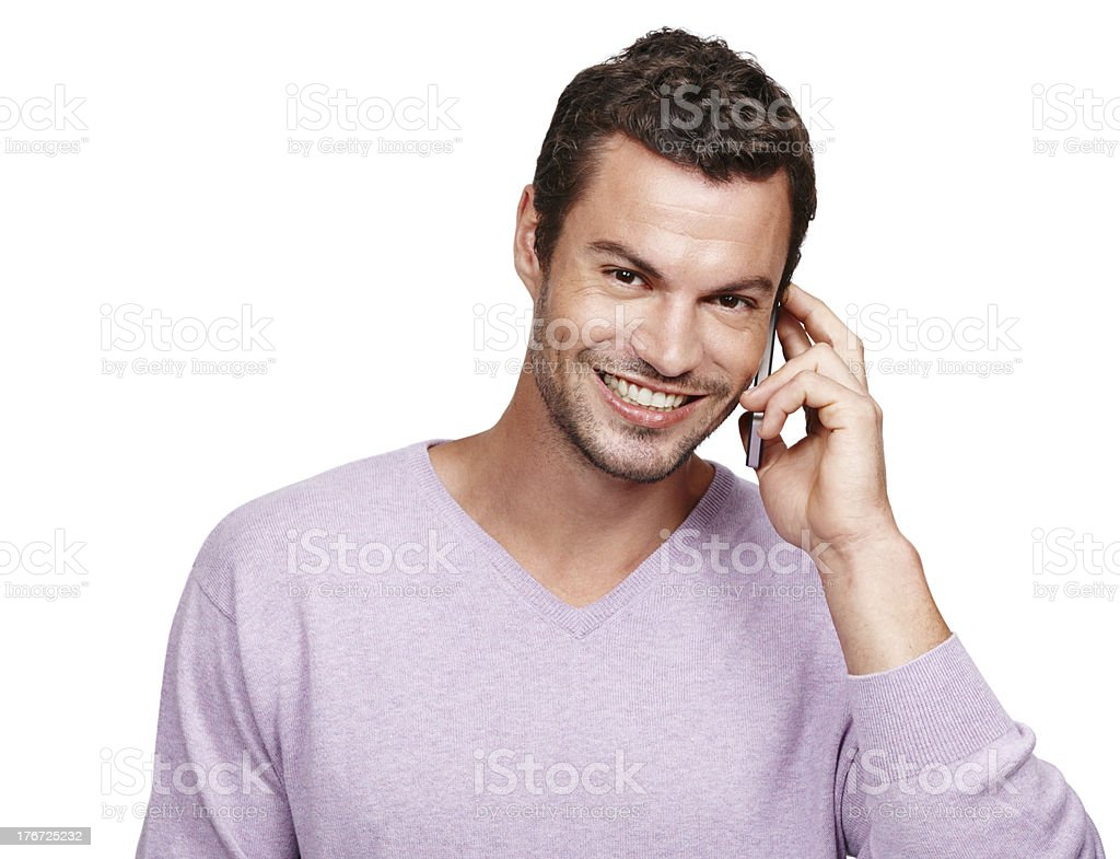 I'm on call! royalty-free stock photo
