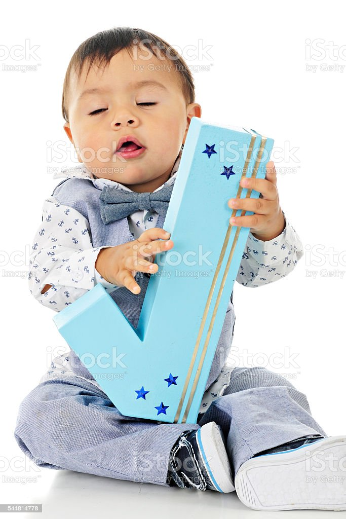 I'm One and Proud of It! stock photo